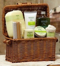 Healing Lemon Avocado  Olive Spa Basket