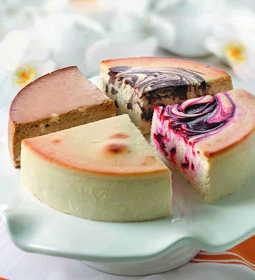 Junior's 4-Flavor Cheesecake Sampler - sugar free