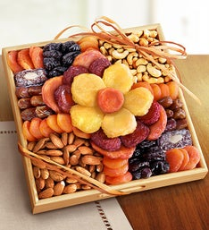 Gluten free gifts gluten free gift baskets delivery harry david flower in bloom gourmet fruit nuts gluten free negle Images