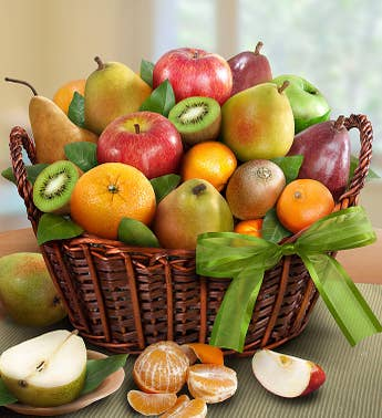 Gluten free gifts gluten free gift baskets delivery harry david premier orchard fruit gift basket gluten free negle Gallery