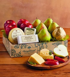 Harry and David® Pears, Apples & Cheese Gift