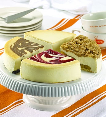 Best of Juniors 4-Flavor Cheesecake Sampler