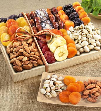 Fruitful Harvest Sympathy Fruit & Nut Crate