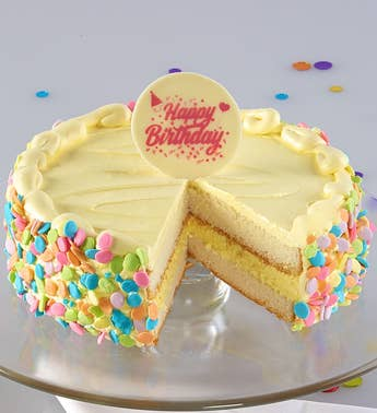 Bake Me a Wish Vanilla Bean Birthday Cake