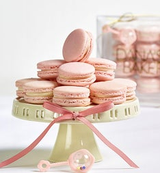 Danas Bakery Welcome Baby Macarons