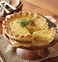 Harry and David® Triple Cheese and Onion Quiche