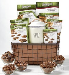 Snappers Chocolate Treats Gift Basket