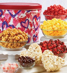 Popcorn Factory Forever Hearts Snack Assortment
