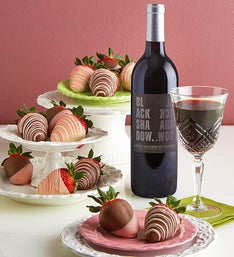 Valentine Strawberries  Cabernet Sauvignon Wine
