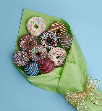 Birthday Chocolate Donut  Cake Pop Bouquet