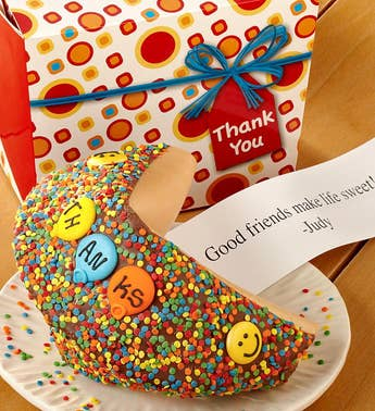 Personalized Gigantic Thank You Fortune Cookie
