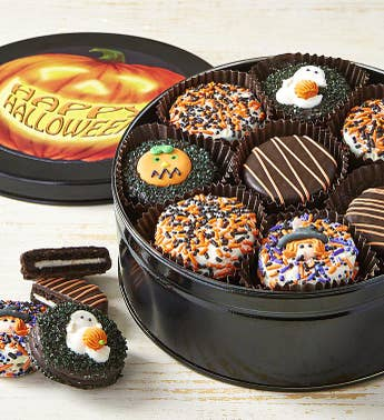 Halloween Belgian Chocolate Covered Oreo Cookies