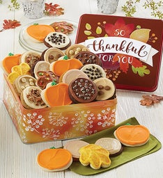 So Thankful for You Gift Tin Frosted Assortment