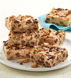 Cashew Chocolate Chip Brownie Sampler