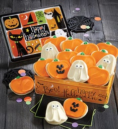 Halloween Gift Tin Halloween Cut-outs