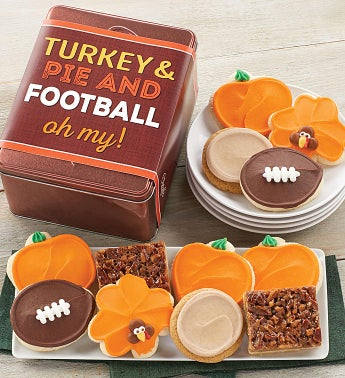 Turkey Pie And Football Oh My