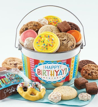 Birthday Treats Pail