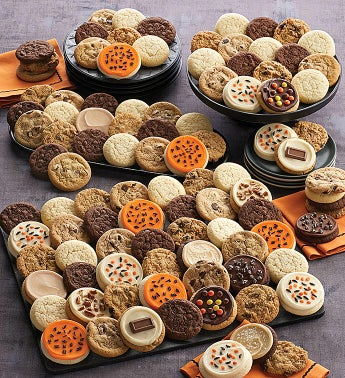 Deluxe Halloween Cookie Dessert Box