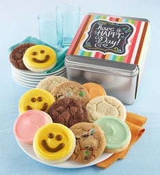 Happy Day Cookie Gift Tin