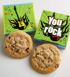 Create Your Own You Rock Cookie Card
