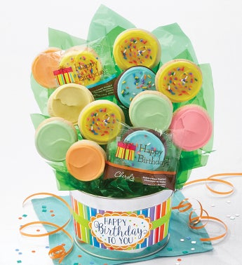 Birthday Cookie Flower Pot