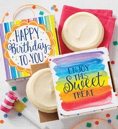 Sugar Free Birthday Cookie Card