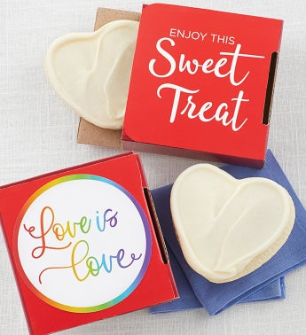 Love is Love Cookie Card
