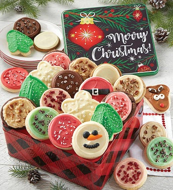 Premier Merry Christmas Gift Tin - Assorted