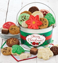 Merry Christmas Treats Gift Pail