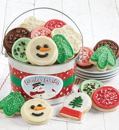 Snowman Cookie Gift Pail