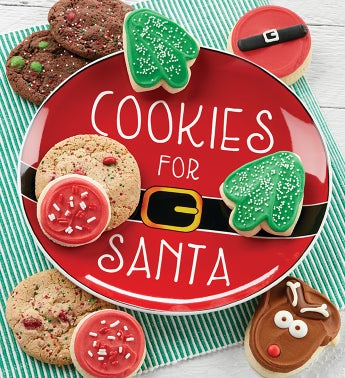 Collectors Edition Cookies for Santa Plate