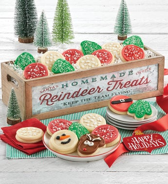 Reindeer Treats Gift Box - Large