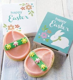 Easter Egg Cookie Card
