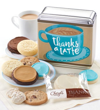 Thanks a Latte Treats Tin