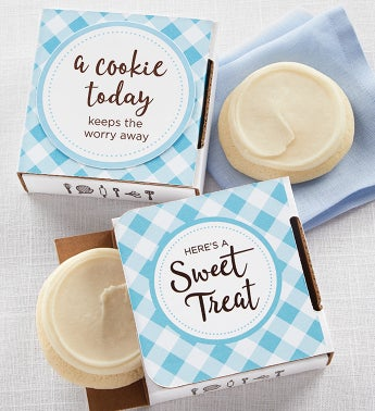 A Cookie Today Keeps the Worry Away Cookie Card