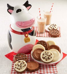 Collector's Edition Cow Cookie Jar