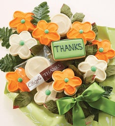 Cheryl's Thank You Cookie Flowers