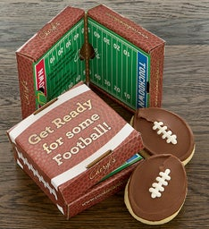 Football 2 Pack Cookie Card