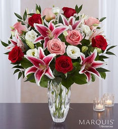 Marquis by Waterford® Blushing Rose & Lily Bouquet