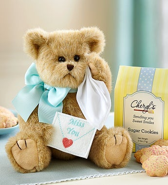 Bearington Miss You Bear with Cheryls Cookies