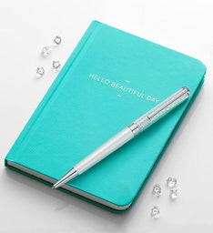 Swarovski Crystalline Pen and Journal