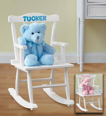 Personalized Rocking Chair for Boy or Girl