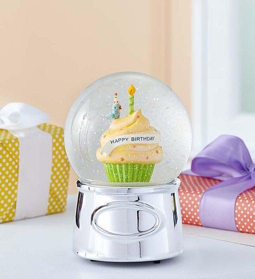Reed BartonR Happy Birthday Water Globe