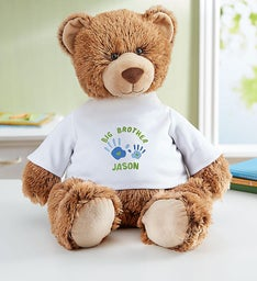 "Personalized Tommy Teddy ""Big Brother"