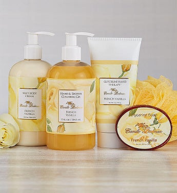 Camille Beckman Spa French Vanilla Gift Set