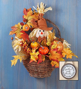 Fall Scarecrow Basket-15