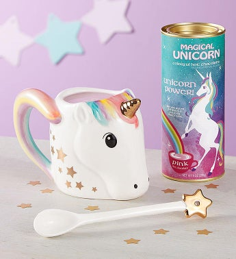 Unicorn Power Mug  Hot Cocoa