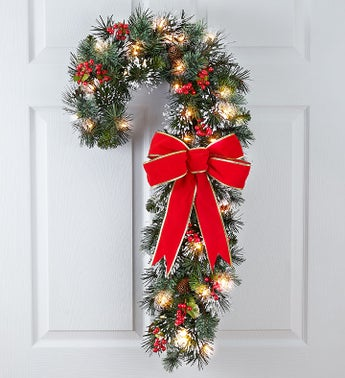 Candy Cane Door Dcor -30
