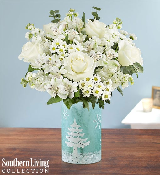 Winter Frost Bouquet by Southern Living®