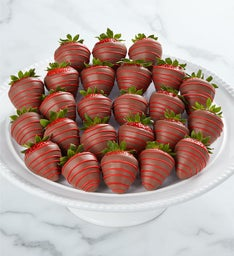 Love and Romance Dipped Strawberries